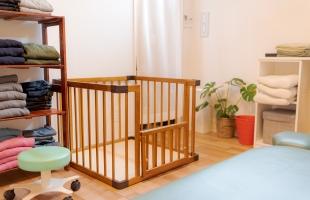 赤ちゃん連れにも対応のイメージ